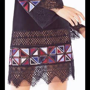 BCBGMaxAzria Dresses - BCBG MAXAzria Runway Laia Embroidered Dress